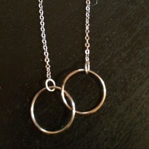 Jewelry - Double circle friendship eternity karma necklace